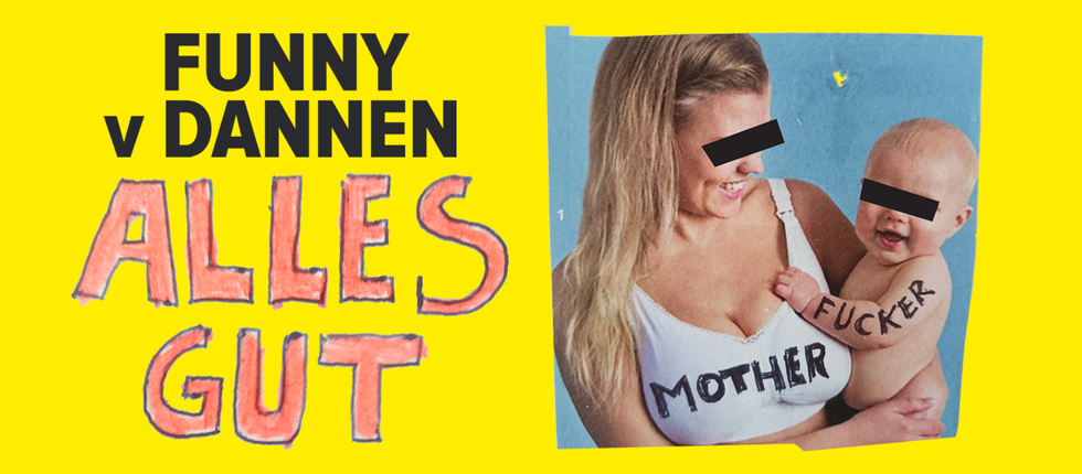 Tickets Funny Van Dannen, alles gut, motherfucker tour 2018/19 in Erlangen